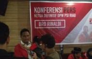 Minggu Sekjen DPP PSI akan Langsung Serahkan SK Dukungan Pilgubri