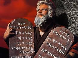 10 comandamenti coriandoli
