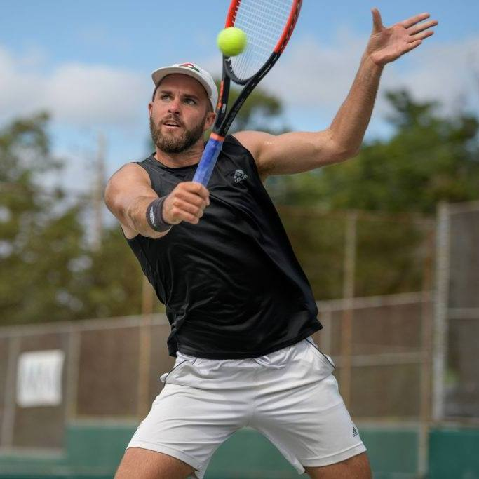 Luke Sunders, NCAA Tennis