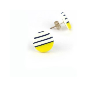 BRETON stud earrings by nadege honey