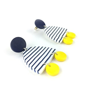 Breton earrings by Nadege Honey