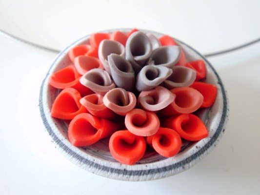Polymer necklace by Nadege Honey