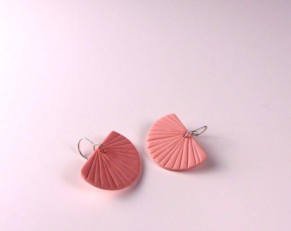 Polymer clay earrings Nadege Honey