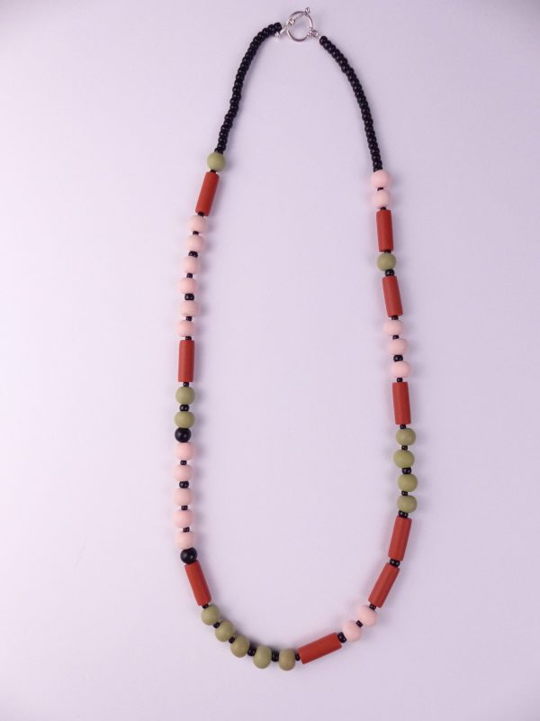 Dot and Dash LIFE IS BEAUTIFUL necklace