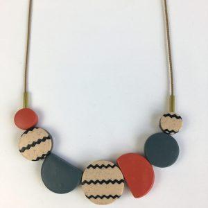 polymer clay light jewellery by nadege honey