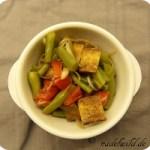 Grüne-Bohnen-Tomaten-Salat