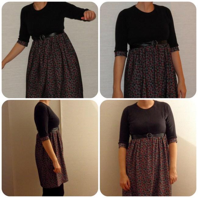 Nähanleitung Kleid fertiges Kleid