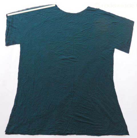 T Shirt selber nähen Schritt 1