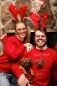 Awkward Christmas family