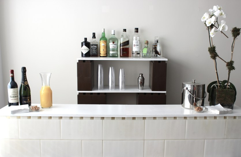 Bar With Bricks