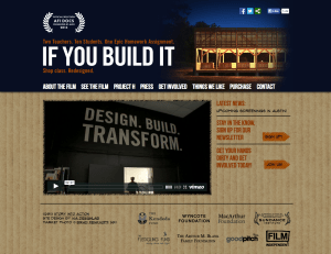If You Build It Web Site Home Page