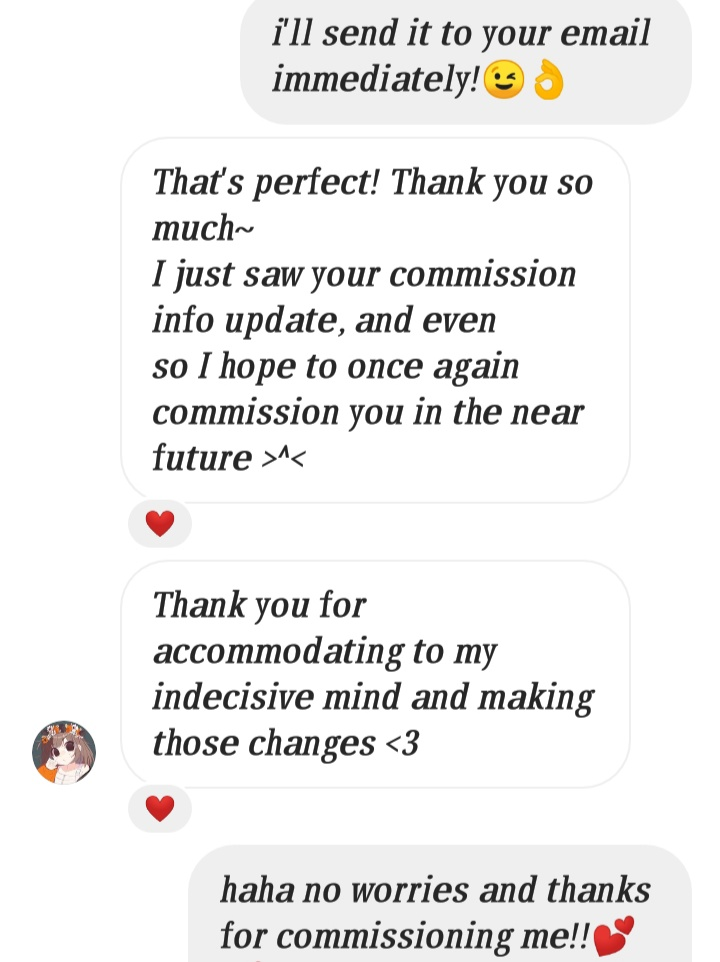 Nadia Aisyah Art Services Testimonial And Costumer Review 5