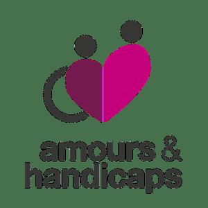"""logo du salon """"Amours et handicaps"""""""