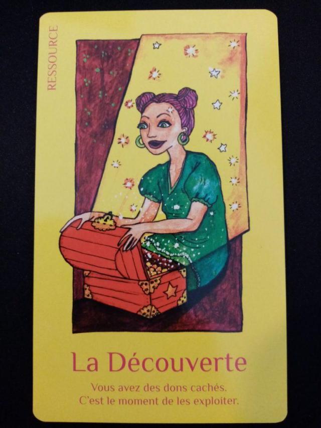 """La Découverte du jeu de carte """"Les cartes de Lumière"""" de Lise Bartoli"""