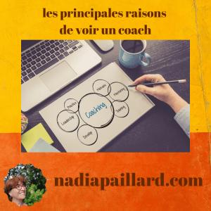 Quelles sont les principales raisons de voir un coach ?