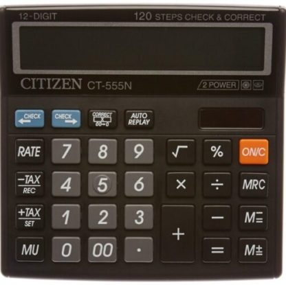Citizen Desktop Calculator CT 555N for Office, Students and Shop Keeping