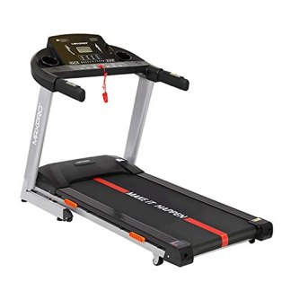 MAXPRO PTM405I 2HP(4 HP Peak) Motorized Auto Incline Folding Treadmill with LCD Display, Soft Cushion and Mobile Phone Holder Perfect for Home Use