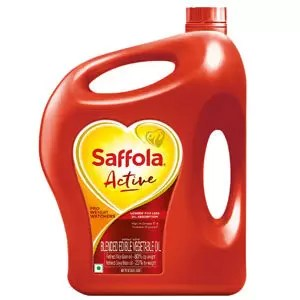Saffola Active Pro Weight Watchers Cooking Oil Smart Way to Stay Fit 5L Jar