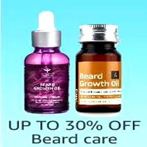Up to 30% off Beard Care - Offer and Discount In Amazon
