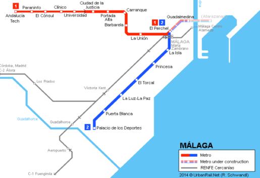 malaga metro