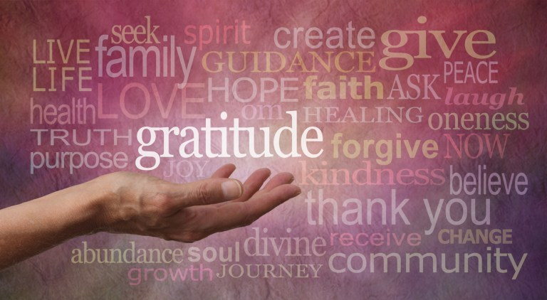 Gratitude: It Helps Your Singing, and Your Life!