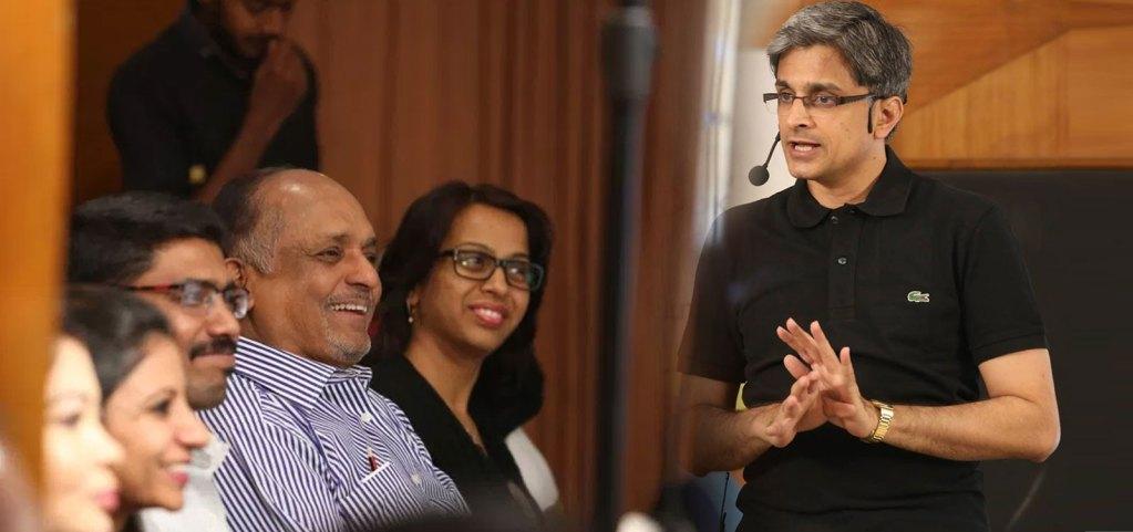 Mahesh Krishnamurthy conducting Group Sessions
