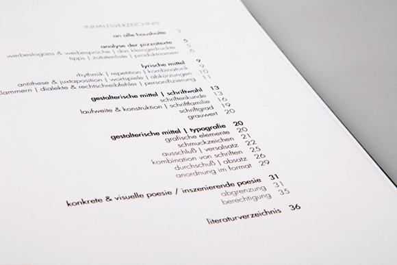 Editorial Design - Inhaltsverzeichnis - Formfleischvorderschinken