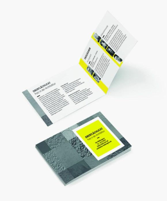Saint Gobain Weber - Webkongress - Design - Einladung - Architektur - Event