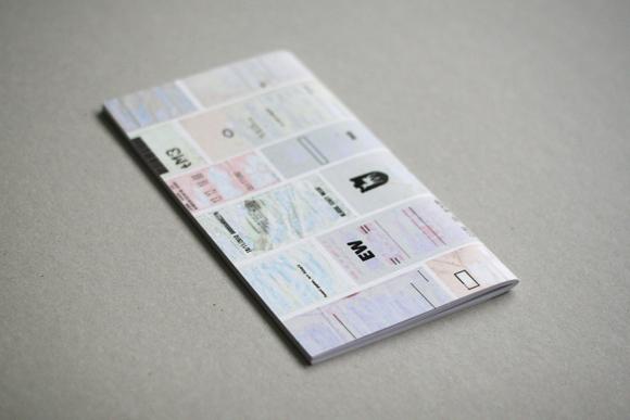 Editorial Design - konkrete Poesie - Kunst - Quittungsbelege - Lastschrift - Design - Rückseite - Cover
