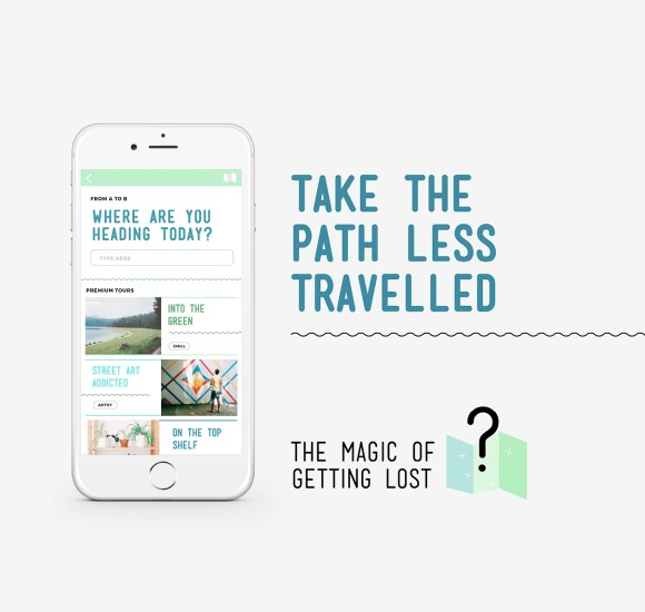 The Magic of Getting Lost - Ad - Facebook - Best Design - Start-up Weekend