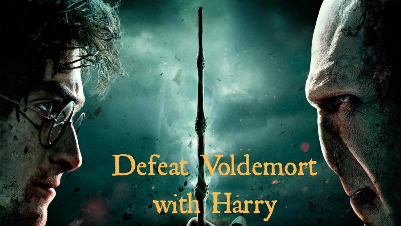 Defeat Voldemort with Harry (pic)