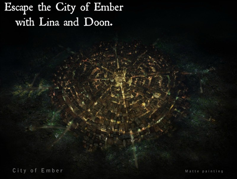 Escape the City of Ember with Lina and Doon (pic)