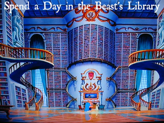 Spend a Day in the Beast's Library (pic)