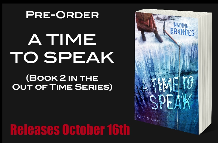 A Time to Speak, Pre-Order Page for Website - BLACK