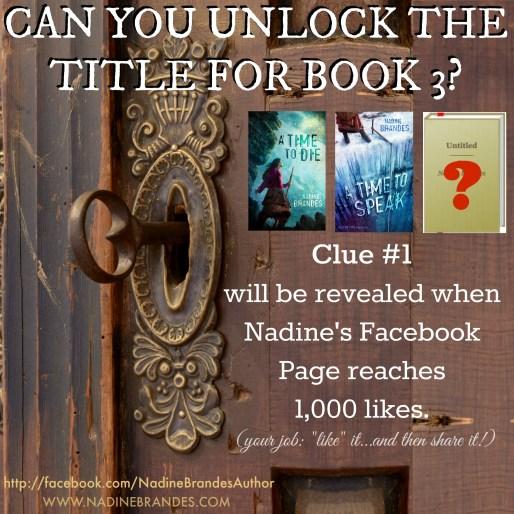Clue #1 Prompt - Book 3