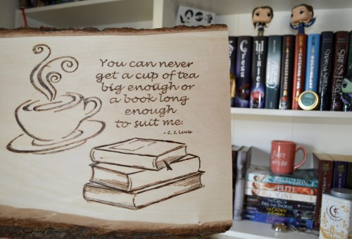 c s lewis quote tea books