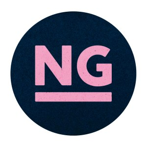 Logo Nadine Gibler blau