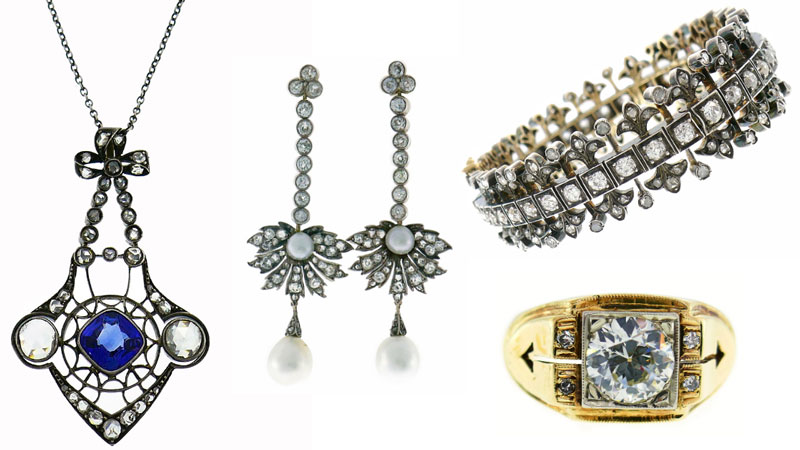 Victorian Jewelry - Classic Designs from Nadine Krakov