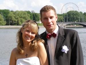 Wir als Brautpaar in Minsk 2007