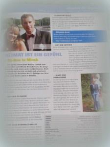 Mein Artikel in dieser Ausgabe