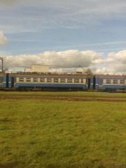 Zug Amsterdam Moskau