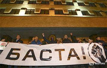 """Proteste gegen """"Schmarotzer-Steuer"""" in Belarus"""