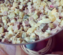 Rezept: Olivié –  russischer Kartoffelsalat