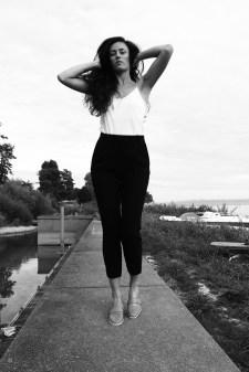 Black & White Portrait of M