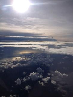 Flying over Zanzibar