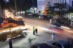 Zanzibar City at night