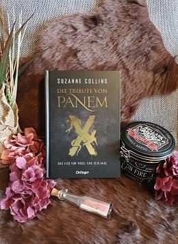 """""""Die Tribute von Panem X - Das Lied von Vogel und Schlange"""" von Suzanne Collins"""