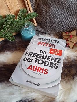 """""""Die Frequenz des Todes: Auris 2"""" von Vincent Kliesch, nach einer Idee von Sebastian Fitzek"""