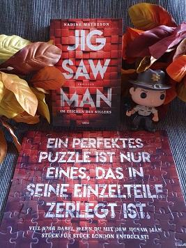 """""""Jigsaw Man - Im Zeichen des Killers"""" von Nadine Matheson"""