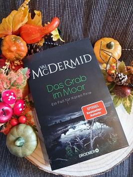 """""""Das Grab im Moor"""" von Val McDermid"""